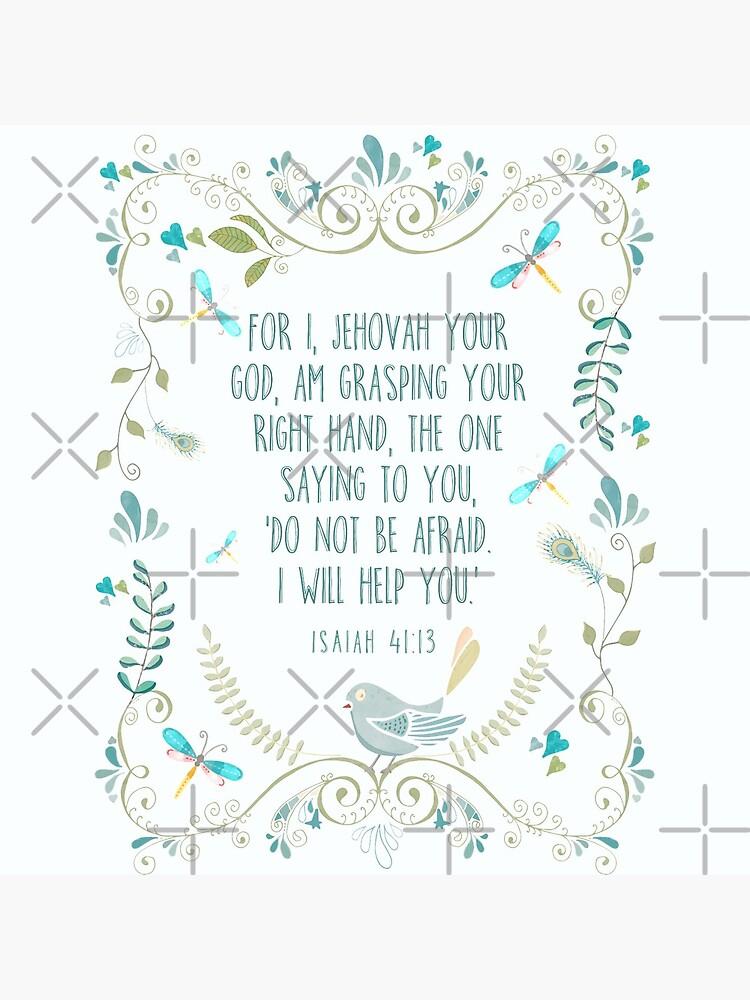 Isaiah 41:13 by JenielsonDesign