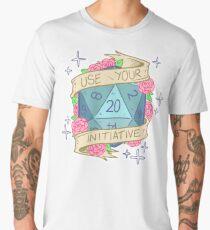 D20 - Use Your Initiative Men's Premium T-Shirt