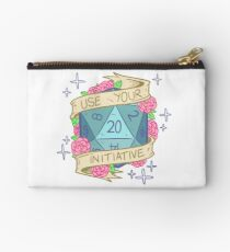 D20 - Use Your Initiative Studio Pouch