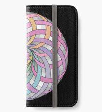 Rainbow rosette iPhone Wallet/Case/Skin