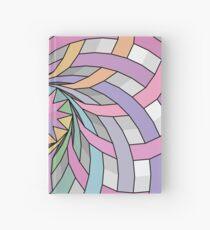 Rainbow rosette Hardcover Journal