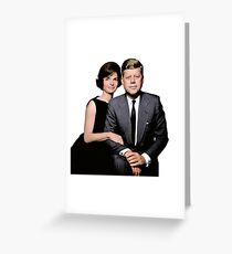 JFK and Jackie Greeting Card