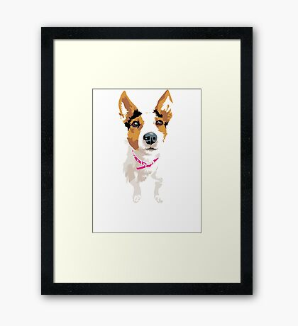 Lucy again Framed Print