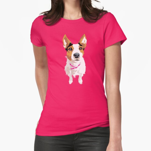 Lucy again Fitted T-Shirt