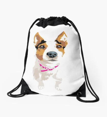 Lucy again Drawstring Bag