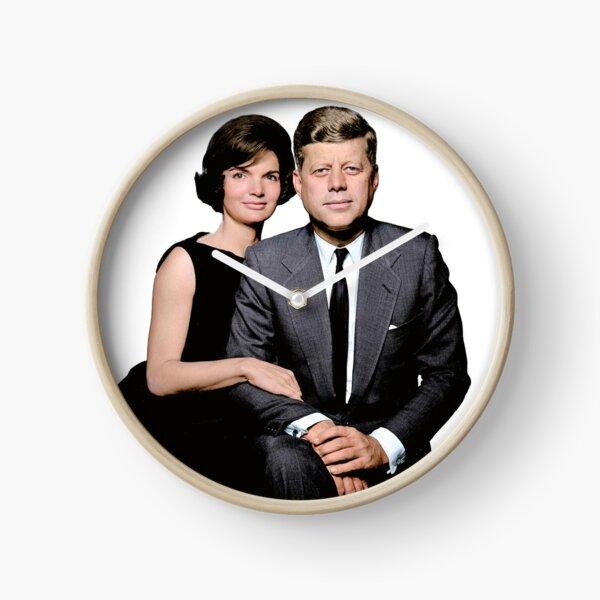 JFK and Jackie Clock