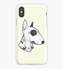 Tattooed Bullterrier iPhone Case/Skin