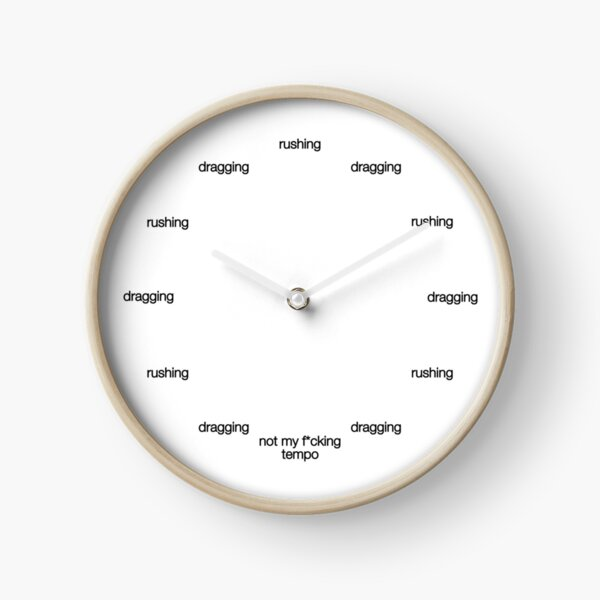 Whiplash Clock Clock
