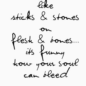 sticks & stones by jdenney
