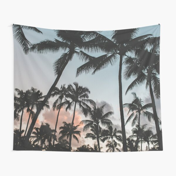 Pacific Palms Tapestry