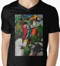 """Peter's Exotics"" V-Neck T-Shirt"