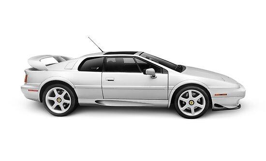 1997 Lotus Esprit V8 sports car art photo print by ArtNudePhotos