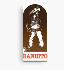 Bandito Canvas Print