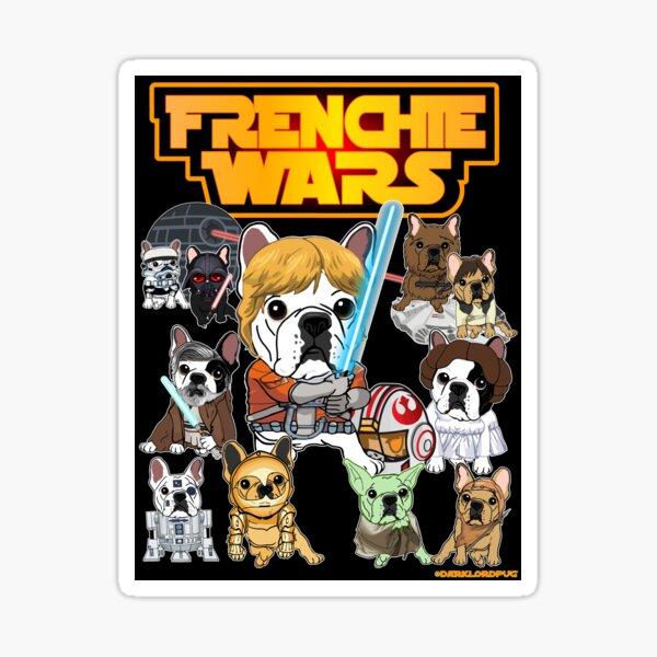 FRENCHIE WARS Sticker