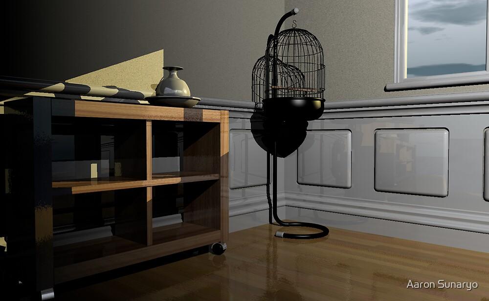 Empty Cage  by Aaron Sunaryo