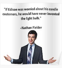 Edison's Candle Customers Poster