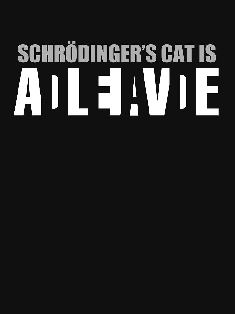 Schrödingers Katze ist ADLEIAVDE von Eniac