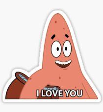 Patrick Star Meme Sticker