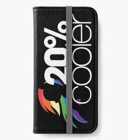 20% Cooler! (ALL options) - BLACK iPhone Wallet
