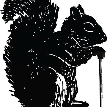 The Aged Squirrel by bradyqk