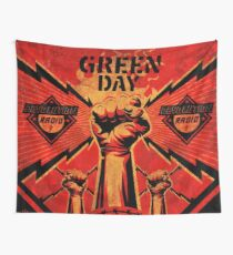 Revolution Radio Green Day Wall Tapestry