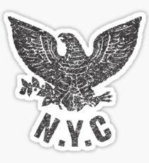 N.Y.C. EAGLE Sticker