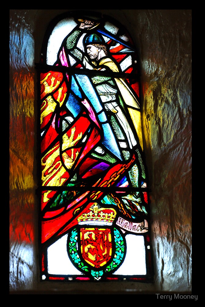 William Wallace window by Terry Mooney