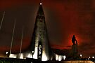 Hallgrimur's Church by Roddy Atkinson