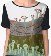 Moss with Lichens Women's Chiffon Top