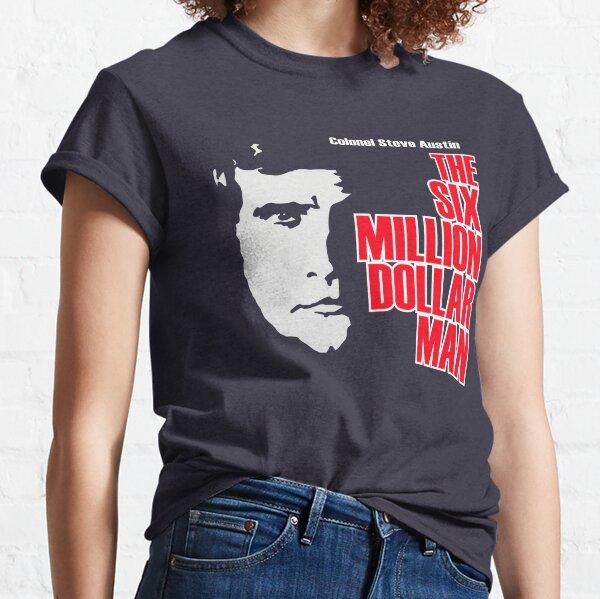 Six Million Dollar Man Shirt, Sticker, Mask Classic T-Shirt