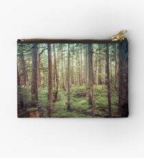 Forest Trees - Tree Woods Green Nature Outdoor Adventure Studio Pouch