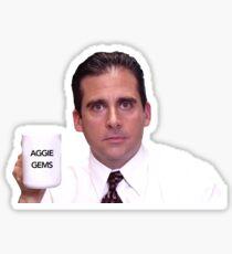 Aggie Gems Sticker