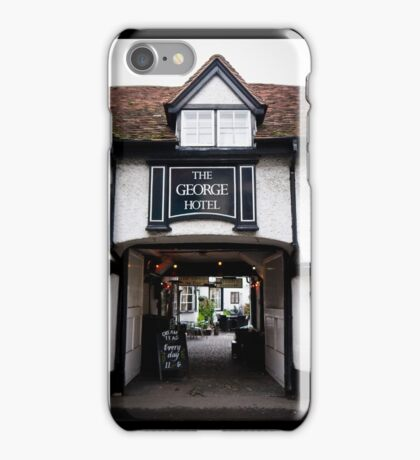 The George Hotel, Wallingford, Oxfordshire iPhone Case/Skin