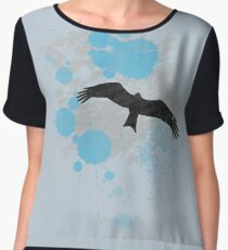 Bird In The Rain Chiffon Top