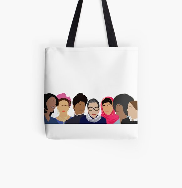 Feminist Girl Gang- Squad Goals All Over Print Tote Bag