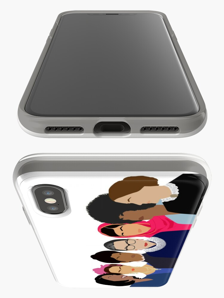 Alternate view of Feminist Girl Gang- Squad Goals iPhone Case & Cover