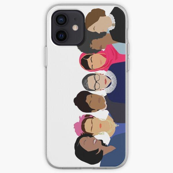 Gang féministe de filles - Objectifs de l'effectif Coque souple iPhone