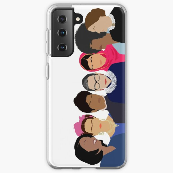 Feminist Girl Gang- Squad Goals Samsung Galaxy Soft Case