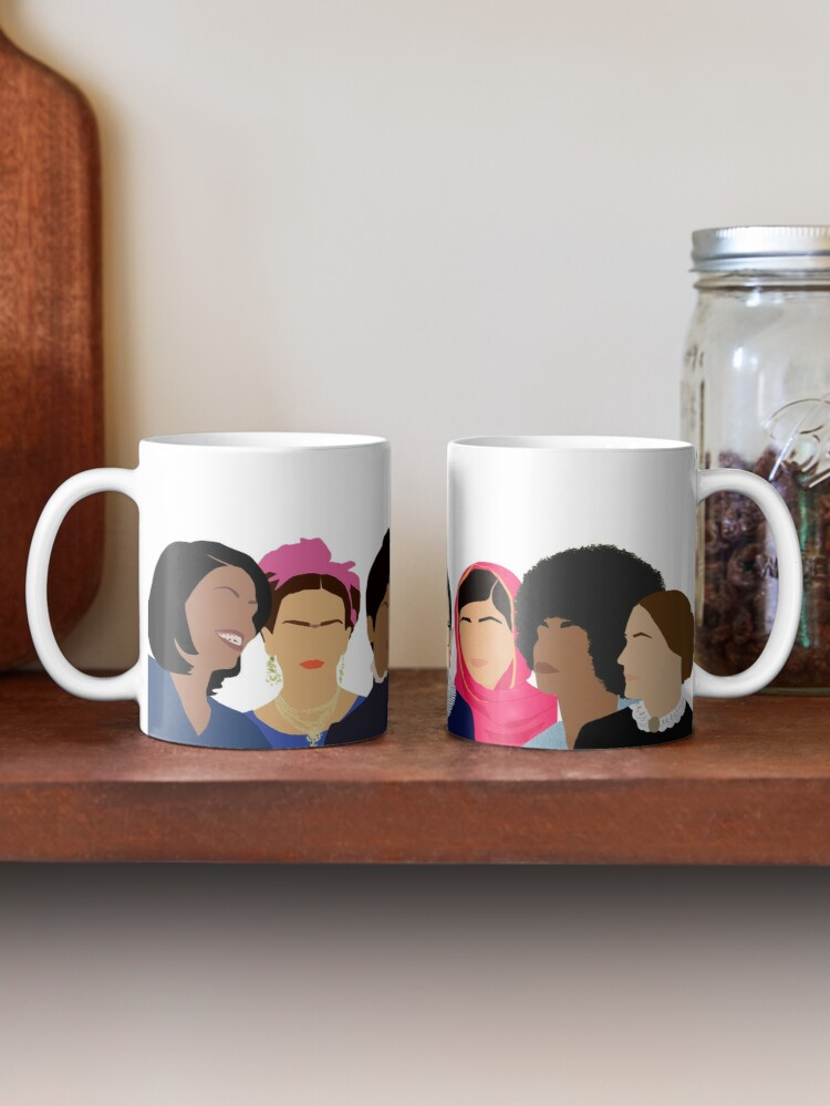 Alternate view of Feminist Girl Gang- Squad Goals Mug