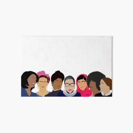 Feminist Girl Gang- Squad Goals Art Board Print
