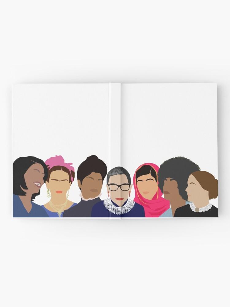 Alternate view of Feminist Girl Gang- Squad Goals Hardcover Journal