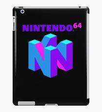 Nintendo 64 (Aesthetic) iPad Case/Skin