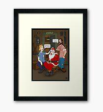 Bring out the Gimp. Framed Print