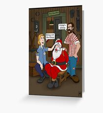 Bring out the Gimp. Greeting Card