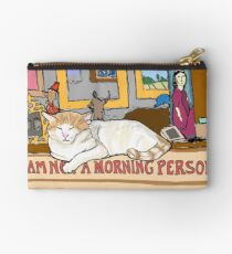 Charlie is Not a Morning Person Zipper Pouch