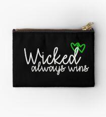 Wicked always wins Studio Pouch