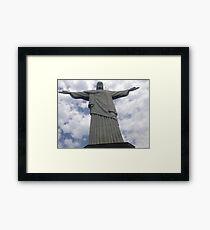 CRISTO REDENTOR RIO DE JANEIRO Framed Print