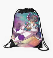 astronaut Drawstring Bag