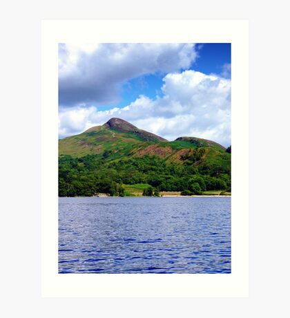 Conic Hill from the Loch Art Print