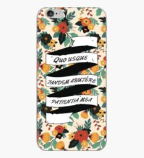Cicero Orations - Floral iPhone Case